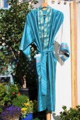 'Amiga' pure silk kimono
