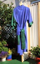 'Deep Thought'  pure silk kimono