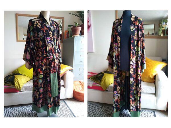 'Goodnight Flora' kimono 1