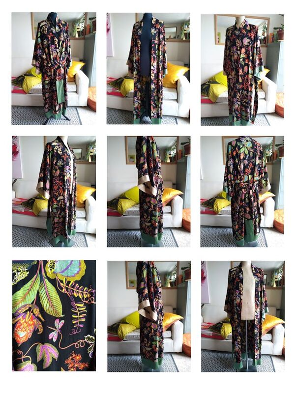 'Goodnight Flora' kimono 2