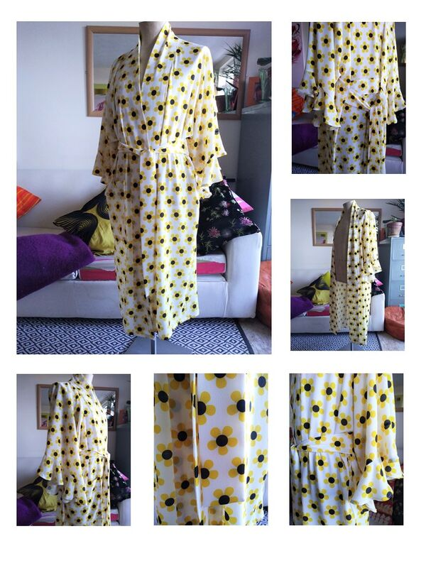 'Flower Flapper' Kimono 2