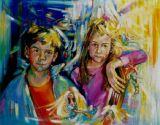 Selene y Ken