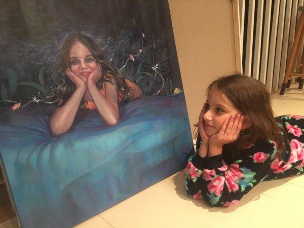 The Sexton Children: Orla with 'Orla'
