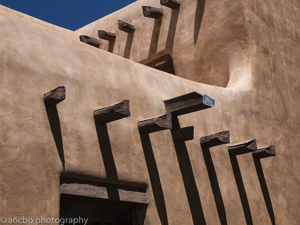 Adobe Building New Mexico