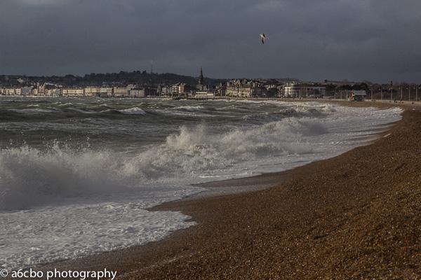 Crashing Waves Weymouth Bay