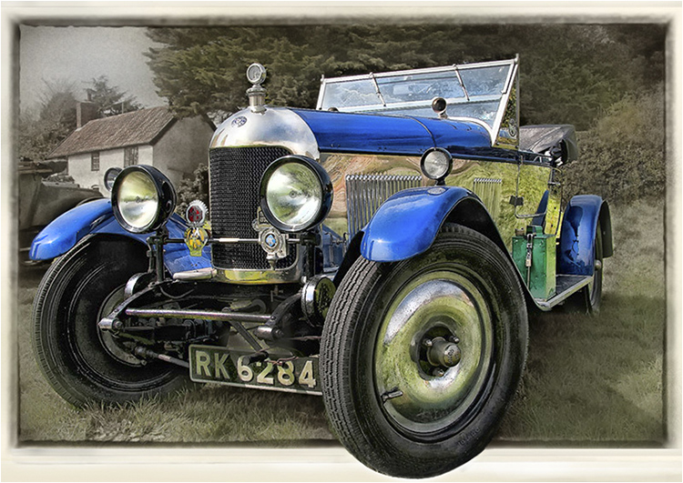 Coming Through~1926-Morris-Oxford - Joint 1st pdi (Modes of Transport) Graham Williams