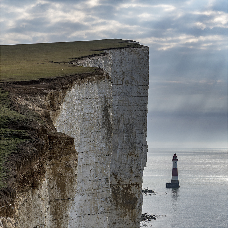 Beachy Head West - Joint 3rd print (Open) Brian Hodgkins