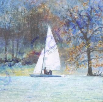 Autumn Sailing (Acrylic)