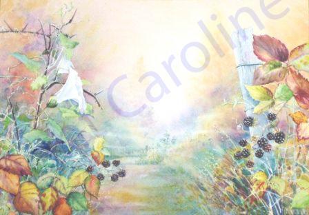 Autumn Light (watercolour)