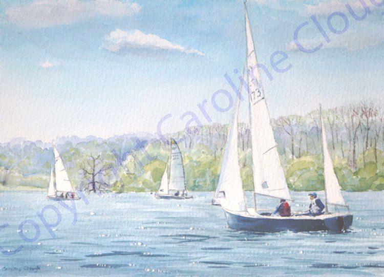 Five Hour Race (Watercolour)