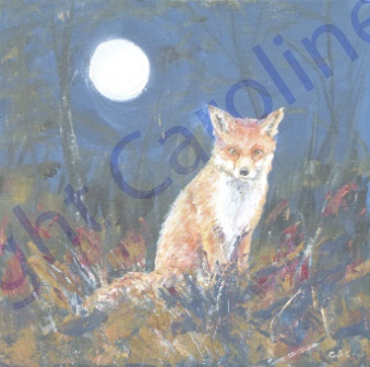 Moonlit Fox