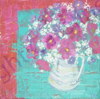 Flower Painting Composition 2