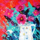 Flower Painting Composition 1
