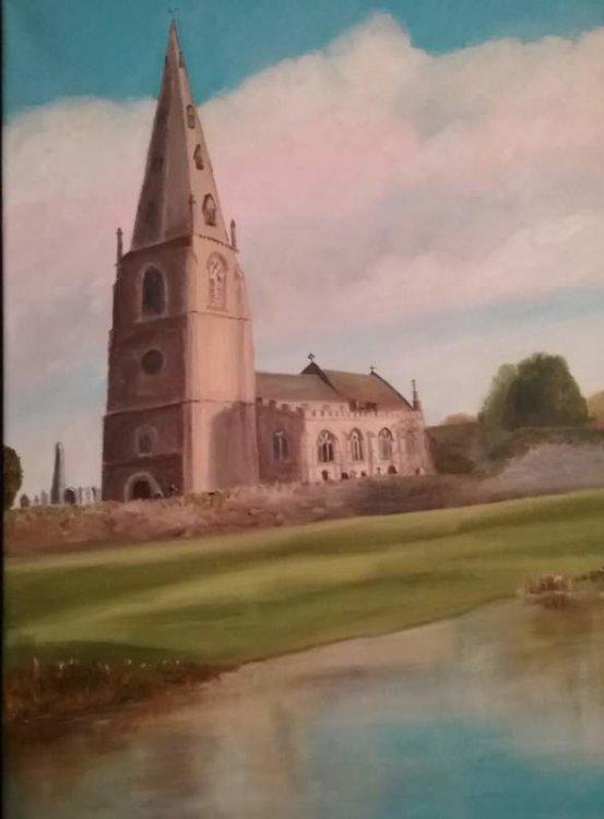 Olney Church £50 Sold