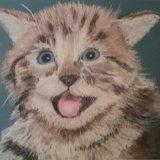 Smiling cat  £25