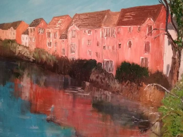 Olney houses by the river £45 sold