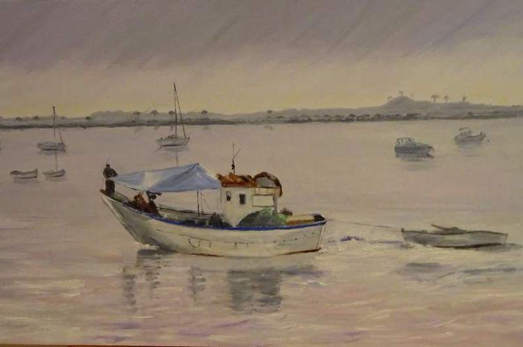 Mar Menor at sunset. Spain £80