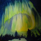Northern Lights £85 sold