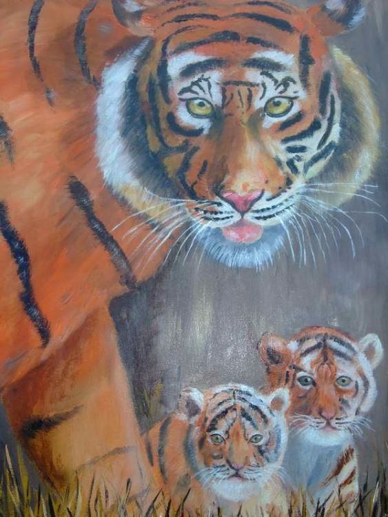 tiger and cubs £65