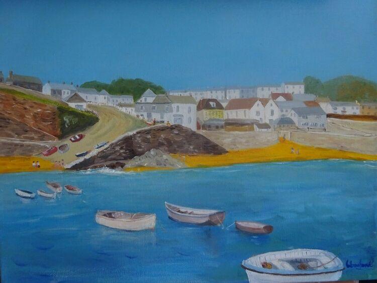 Porthscalo, Cornwall  £45
