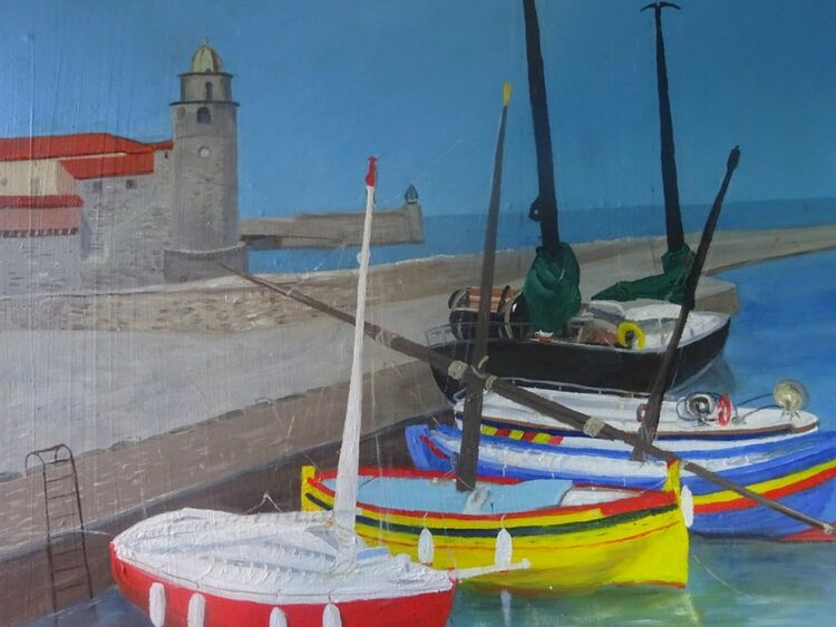 Boats in France £100