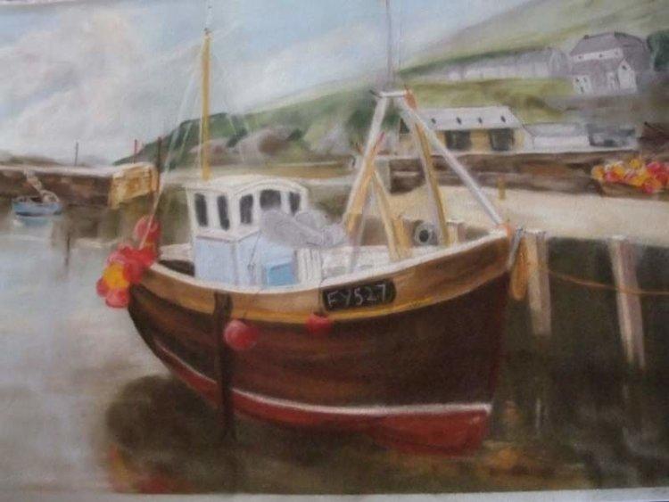 Cornish Fishing Boat sold