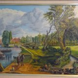 Flatford Mill copy Constable  £65