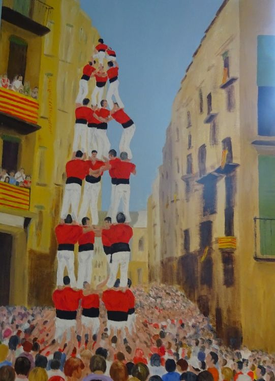 Human Tower (Spain) £200