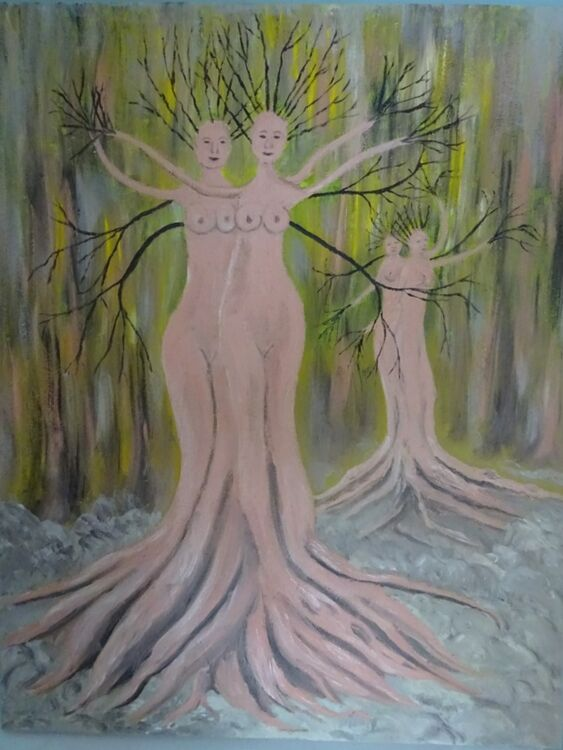 Woman Trees £100