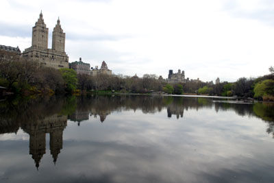 A look at the Central Park lake from Strawberry Fields during the VHS New York tour in 2006.