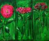 3 Roses (Triptic)