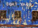 Boat Yard in blue