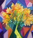 Cubist daffoldils