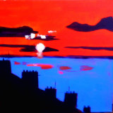 Sunrise over Teignmouth