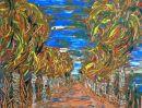 avenue of trees in Cuba