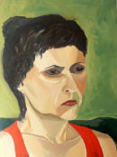 grumpy lady