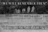 Do We Remember Them?