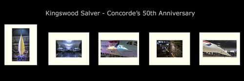 Concorde's 50th Anniversary Layout