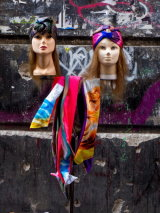 Matching Scarves and Graffiti