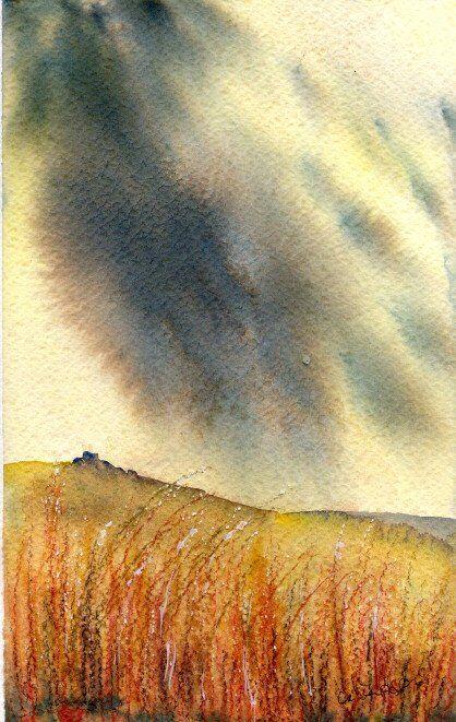 Moor under Storm Clouds