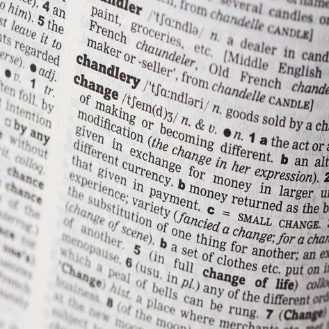 Change - Definition