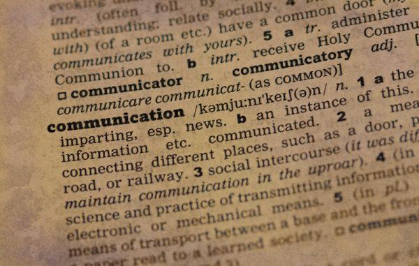 Communication - Definition