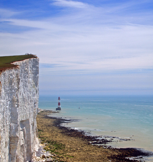 Beachy Head from a Seven Sister