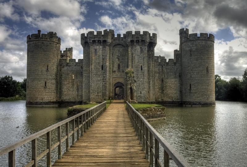 Cross the bridge to castle