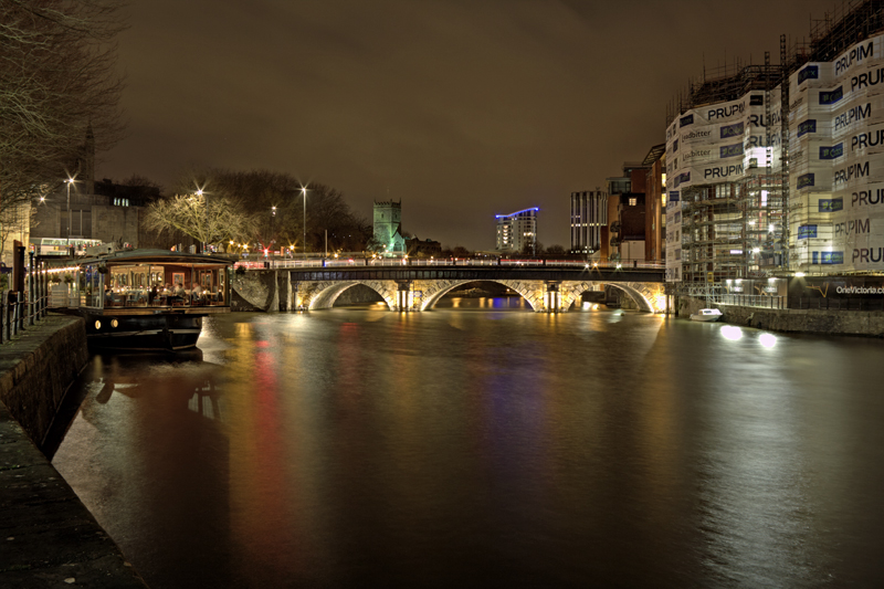 Bristol Bridge Night