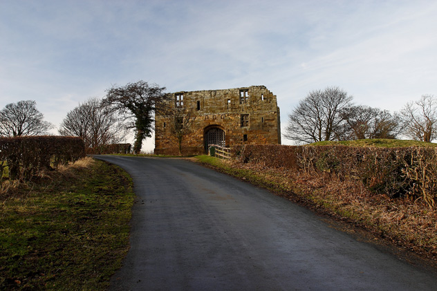 Whorlton Castle, North York Moors