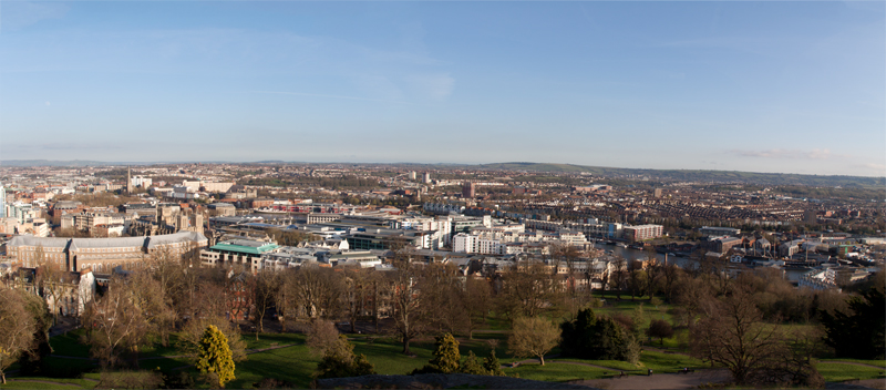 Bristol City Panorama