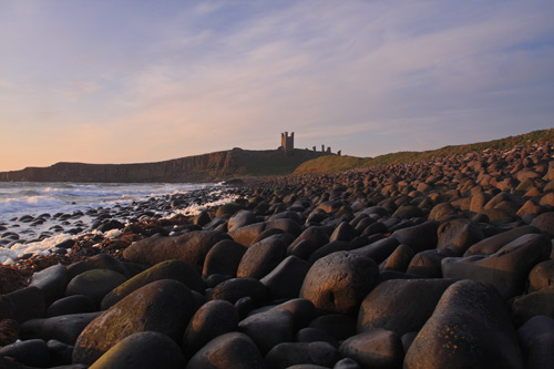 Early May morning at Dunstanburgh Castle