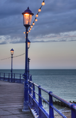 Lights on the Pier, Eastbourne, Sussex