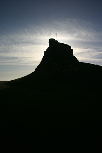 Early am at Lindisfarne